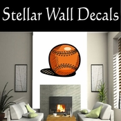 Baseball Throwing Hitting Pitching Batting Catching Sliding Swinging CDSColor122 Sport Sports Wall or Car Vinyl Decal Sticker Mural SWD