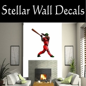 Baseball Throwing Hitting Pitching Batting Catching Sliding Swinging CDSColor145 Sport Sports Wall or Car Vinyl Decal Sticker Mural SWD