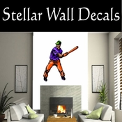 Baseball Throwing Hitting Pitching Batting Catching Sliding Swinging CDSColor150 Sport Sports Wall or Car Vinyl Decal Sticker Mural SWD