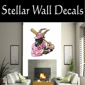 Baseball Throwing Hitting Pitching Batting Catching Sliding Swinging CDSColor201 Sport Sports Wall or Car Vinyl Decal Sticker Mural SWD
