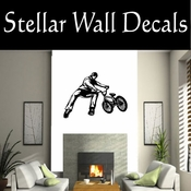 BMX Freestly BMX Bike Tricks CDS001 Sport Sports Wall or Car Vinyl Decal Sticker Mural SWD