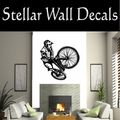 BMX Freestly BMX Bike Tricks CDS006 Sport Sports Wall or Car Vinyl Decal Sticker Mural SWD