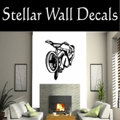 BMX Freestly BMX Bike Tricks CDS007 Sport Sports Wall or Car Vinyl Decal Sticker Mural SWD
