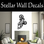 BMX Freestly BMX Bike Tricks CDS008 Sport Sports Wall or Car Vinyl Decal Sticker Mural SWD
