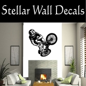 BMX Freestly BMX Bike Tricks CDS009 Sport Sports Wall or Car Vinyl Decal Sticker Mural SWD