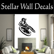 BMX Freestly BMX Bike Tricks CDS010 Sport Sports Wall or Car Vinyl Decal Sticker Mural SWD