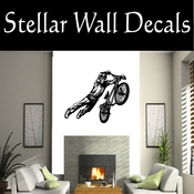 BMX Freestly BMX Bike Tricks CDS011 Sport Sports Wall or Car Vinyl Decal Sticker Mural SWD