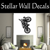 BMX Freestly BMX Bike Tricks CDS013 Sport Sports Wall or Car Vinyl Decal Sticker Mural SWD