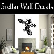 BMX Freestly BMX Bike Tricks CDS014 Sport Sports Wall or Car Vinyl Decal Sticker Mural SWD