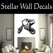 BMX Freestly BMX Bike Tricks CDS018 Sport Sports Wall or Car Vinyl Decal Sticker Mural SWD