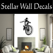 BMX Freestly BMX Bike Tricks CDS022 Sport Sports Wall or Car Vinyl Decal Sticker Mural SWD