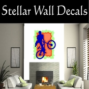 BMX Freestly BMX Bike Tricks CDSColor006 Sport Sports Wall or Car Vinyl Decal Sticker Mural SWD