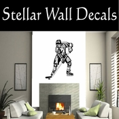 Hockey Players Skating Sticks Slap shot Checking Check Shooting Scoring Goalies Players CDS006 Sport Sports Wall or Car Vinyl Decal Sticker Mural SWD
