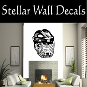 Hockey Players Skating Sticks Slap shot Checking Check Shooting Scoring Goalies Players CDS052 Sport Sports Wall or Car Vinyl Decal Sticker Mural SWD