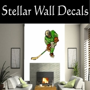Hockey Players Skating Sticks Slap shot Checking Check Shooting Scoring Goalies Players CDSCOLOR140 Sport Sports Wall or Car Vinyl Decal Sticker Mural SWD