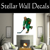 Hockey Players Skating Sticks Slap shot Checking Check Shooting Scoring Goalies Players CDSCOLOR146 Sport Sports Wall or Car Vinyl Decal Sticker Mural SWD