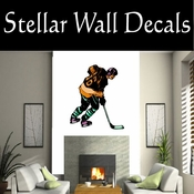 Hockey Players Skating Sticks Slap shot Checking Check Shooting Scoring Goalies Players CDSCOLOR159 Sport Sports Wall or Car Vinyl Decal Sticker Mural SWD