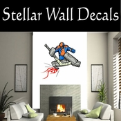 Hockey Flames Players Skating Sticks Slap shot Checking Check Shooting Scoring Goalies Players CDSCOLOR180 Sport Sports Wall or Car Vinyl Decal Sticker Mural SWD