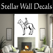 Rodeo Cowboy Horse Riding Horseback Riding Bull Riding CDS005 Sport Sports Wall or Car Vinyl Decal Sticker Mural SWD