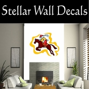 Rodeo Cowboy Horse Riding Horseback Riding Bull Riding CDSCOLOR001 Sport Sports Wall or Car Vinyl Decal Sticker Mural SWD