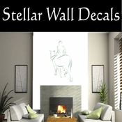 Rodeo Cowboy Horse Riding Horseback Riding Bull Riding CDSCOLOR012 Sport Sports Wall or Car Vinyl Decal Sticker Mural SWD
