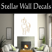 Rodeo Cowboy Horse Riding Horseback Riding Bull Riding CDSCOLOR029 Sport Sports Wall or Car Vinyl Decal Sticker Mural SWD