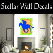 Rodeo Cowboy Horse Riding Horseback Riding Bull Riding CDSCOLOR043 Sport Sports Wall or Car Vinyl Decal Sticker Mural SWD
