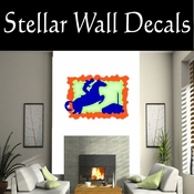Rodeo Cowboy Horse Riding Horseback Riding Bull Riding CDSCOLOR050 Sport Sports Wall or Car Vinyl Decal Sticker Mural SWD