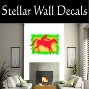 Rodeo Cowboy Horse Riding Horseback Riding Bull Riding CDSCOLOR052 Sport Sports Wall or Car Vinyl Decal Sticker Mural SWD