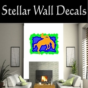Rodeo Cowboy Horse Riding Horseback Riding Bull Riding CDSCOLOR053 Sport Sports Wall or Car Vinyl Decal Sticker Mural SWD