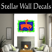 Rodeo Cowboy Horse Riding Horseback Riding Bull Riding CDSCOLOR057 Sport Sports Wall or Car Vinyl Decal Sticker Mural SWD