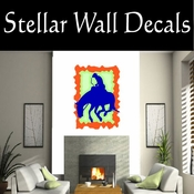 Rodeo Cowboy Horse Riding Horseback Riding Bull Riding CDSCOLOR077 Sport Sports Wall or Car Vinyl Decal Sticker Mural SWD