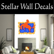 Rodeo Cowboy Horse Riding Horseback Riding Bull Riding CDSCOLOR084 Sport Sports Wall or Car Vinyl Decal Sticker Mural SWD