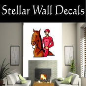 Rodeo Cowboy Horse Riding Horseback Riding Bull Riding CDSCOLOR088 Sport Sports Wall or Car Vinyl Decal Sticker Mural SWD
