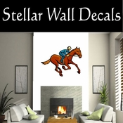 Rodeo Cowboy Horse Riding Horseback Riding Bull Riding CDSCOLOR089 Sport Sports Wall or Car Vinyl Decal Sticker Mural SWD