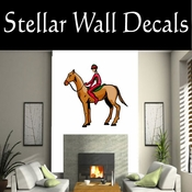 Rodeo Cowboy Horse Riding Horseback Riding Bull Riding CDSCOLOR091 Sport Sports Wall or Car Vinyl Decal Sticker Mural SWD
