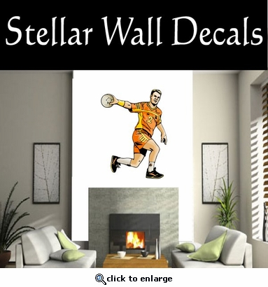 Soccer Futball Running Kicking Kick Score Goal Goalie Players CDSCOLOR208 Sports Vinyl Wall Decal - Wall Mural - Car Sticker  SWD