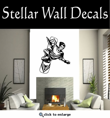 Surfing Surf Wave Riding Wind Surfing  CDS013 Sports Vinyl Wall Decal - Wall Mural - Car Sticker  SWD