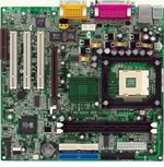 Ms-6524G Microstar Motherboard Ms-6524Gl Audio/Vid/Lan 2Sd/3P Pga478