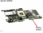 237354-001 Compaq Motherboard System Board With 64Mb For Presario 1