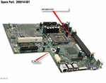 269014-001 HP Compaq System Board 815E For Evo D500U Ultraslim Deskto
