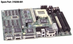 319208-001 Compaq Motherboard System Board 32Mb Sdram And 2Mb Vram