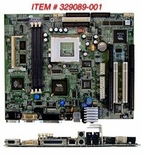 329089-001 Compaq Motherboard System Board Socket 7 With Flat Panel