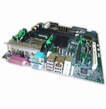 FG108 Dell System Board GX280 DT 4 RAM Slots, 1 PCI, 1 AGP - New