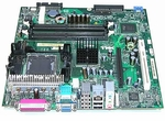 XF964 Dell System Board GX280 DT 4 RAM Slots, 1 PCI, 1 AGP - New