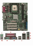 312812 Emachine Imperial Gv Gl Ve System Board - New