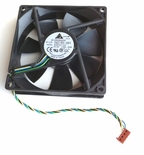 HP 392185-001 Dc 12V Brushless Fan - 92X92X25Mm - Includes Cable With