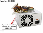 263999-001 Compaq Power Supply - 250 Watts - Pfc Power Factor Correc
