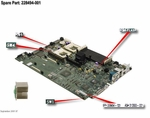 228494-001 Compaq System I/O Motherboard For Proliant Dl380 G2 - Ne