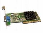 2G813 Dell Video Card 16Mb Ati Rage 128Pro Agp With Full Height Brack